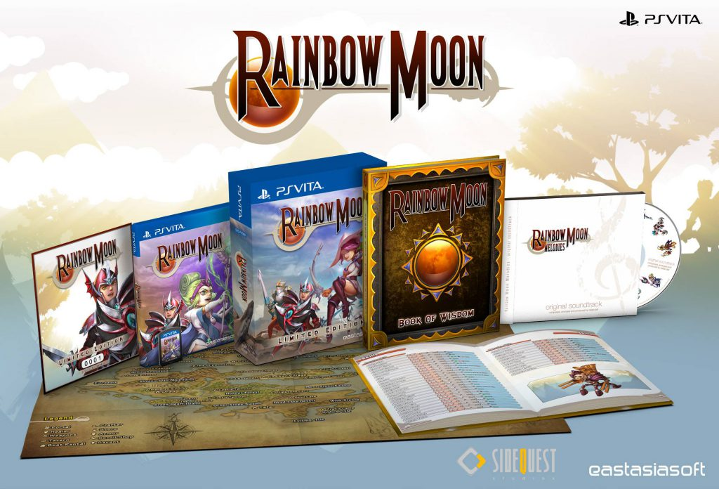 Rainbow Moon Limited Edition PS Vita