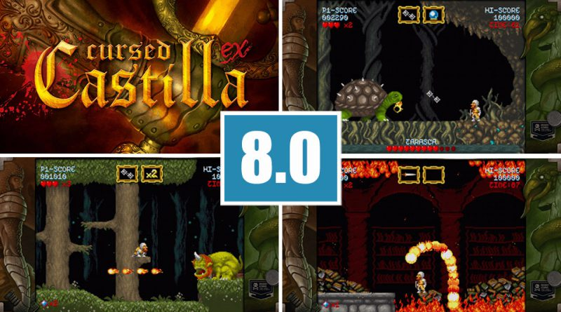 Review Cursed Castilla PS Vita Maldita Castilla EX