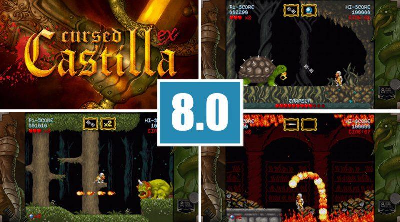 Review Cursed Castilla PS Vita Maldita Castilla EX