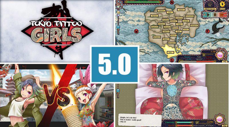 Review Tokyo Tattoo Girls PS Vita