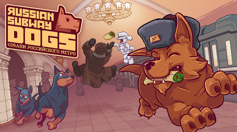 Russian Subway Dogs PS Vita PS4