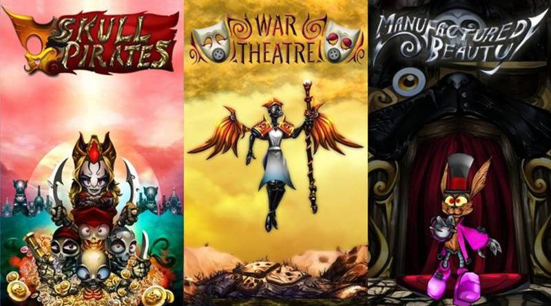 SkullPirates War Theatre Manufactured Beauty PS Vita PS4