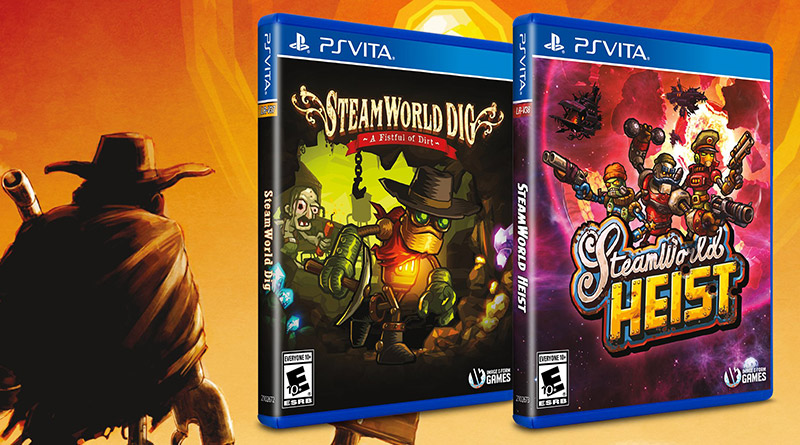 SteamWorld Dig SteamWorld Heist PS Vita Limited Run Games