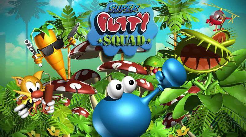 Super Putty Squad Nintendo Switch