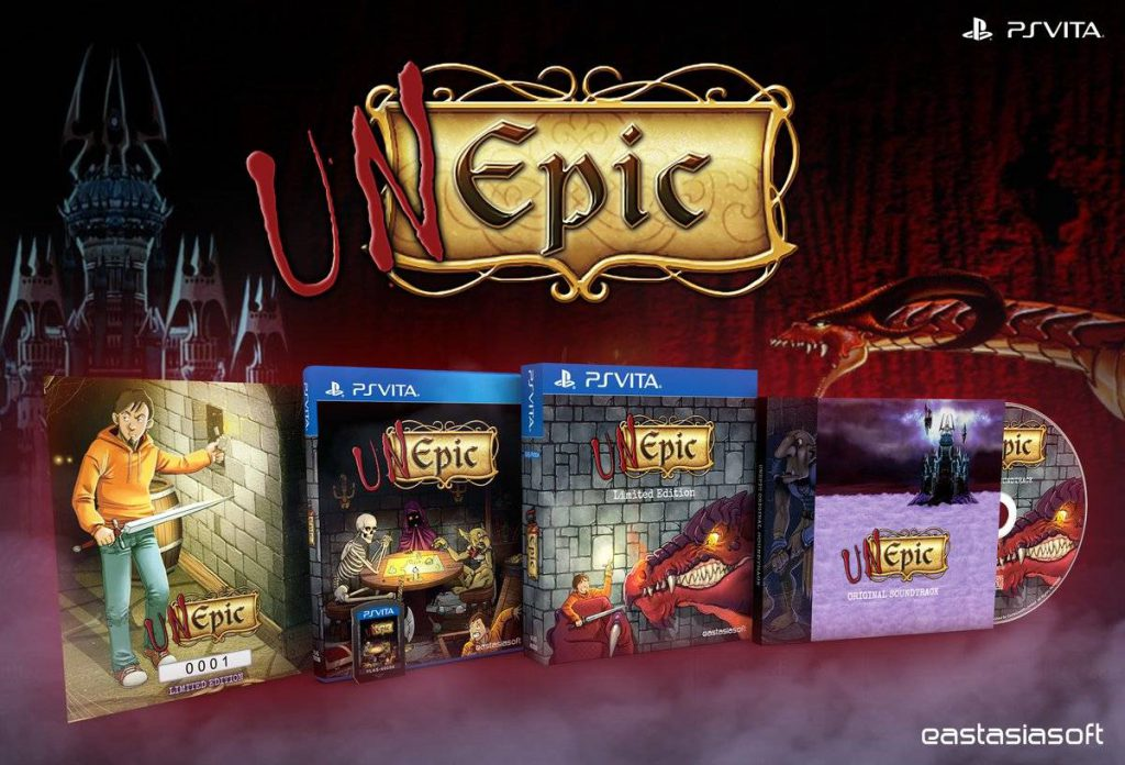 UnEpic Limited PS Vita Edition