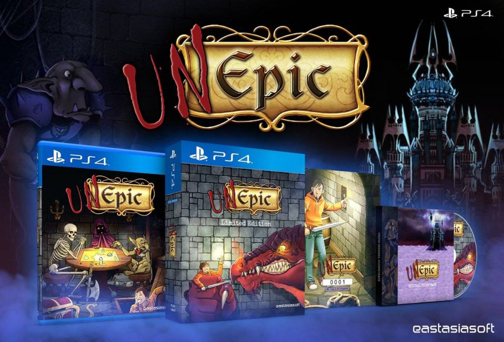UnEpic Limited PS4 Edition