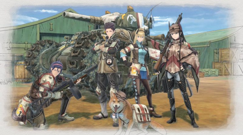 Valkyria Chronicles 4 Nintendo Switch PS4 XBox One