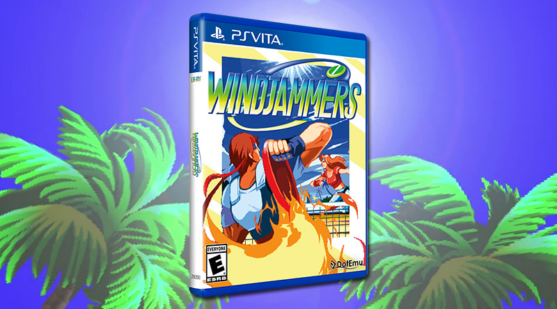 WindJammers PS Vita Physical Release