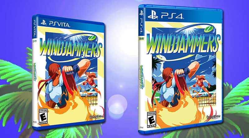 WindJammers PS Vita PS4 Limited Run Games