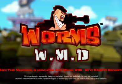 Worms W.M.D Out Now On Nintendo Switch