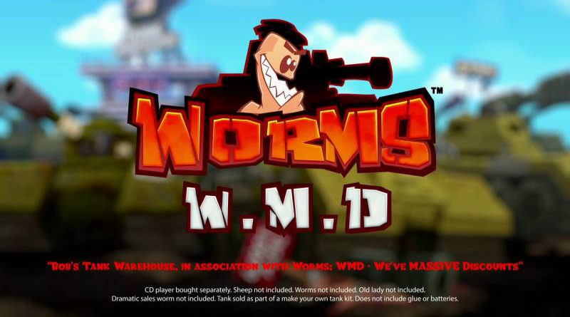 Worms W.M.D Nintendo Switch