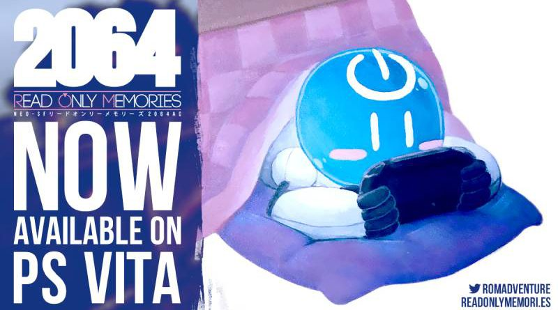 2064: Read Only Memories PS Vita