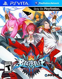 BlazBlue: Chrono Phantasma PS Vita