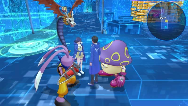 Digimon Story: Cyber Sleuth Hacker's Memory PS Vita
