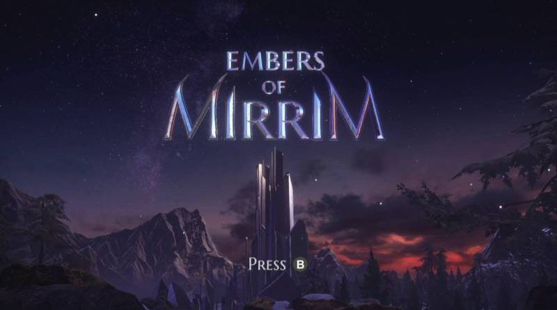 Embers of Mirrim Nintendo Switch