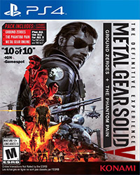 Metal Gear Solid V: The Definitive Experience PS4