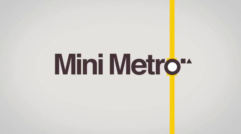 Mini Metro Nintendo Switch