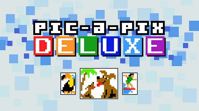 Pic-a-Pix Deluxe Nintendo Switch