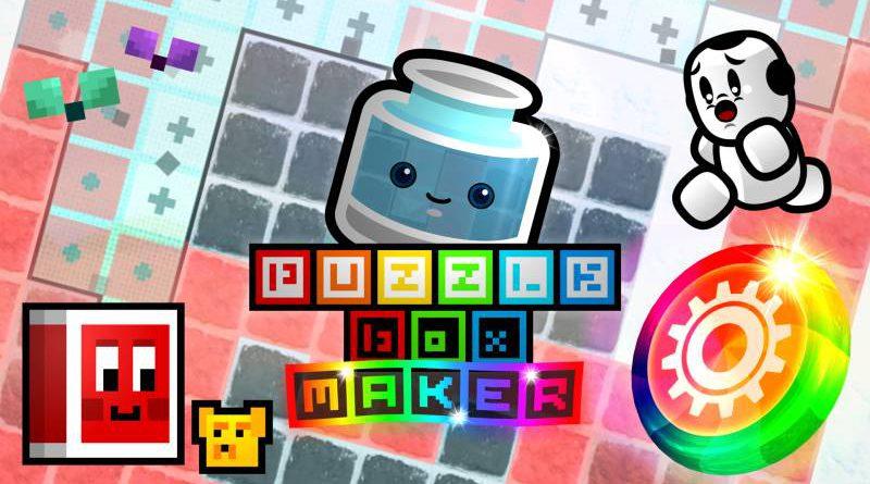 Puzzle Box Maker Nintendo Switch