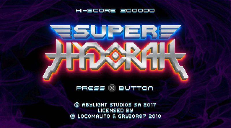 Super Hydorah PS Vita PS4