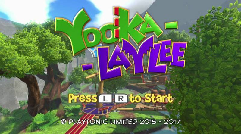 Yooka-Laylee Out Now For Nintendo Switch