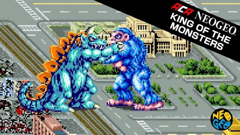 ACA NeoGeo: King of the Monsters Nintendo Switch