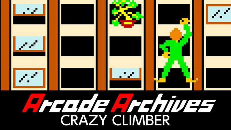 Arcade Archives Crazy Climber Nintendo Switch