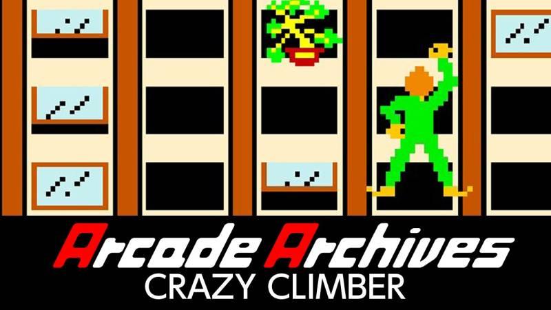 Arcade Archives Crazy Climber Nintendo Switch