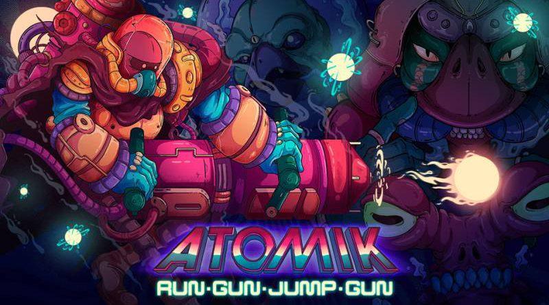 ATOMIK: RunGunJumpGun Nintendo Switch