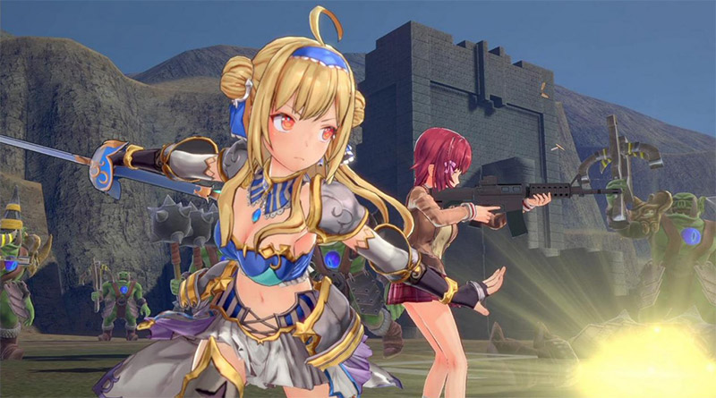 Bullet Girls Phantasia PS Vita