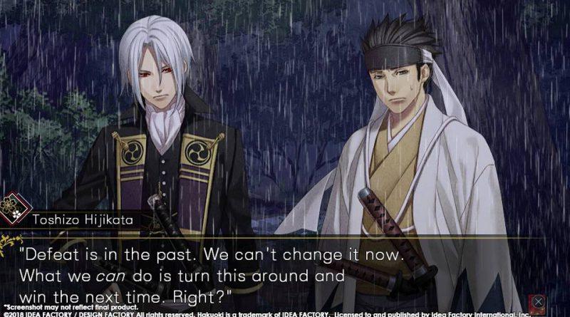 Hakuoki: Edo Blossoms PS Vita