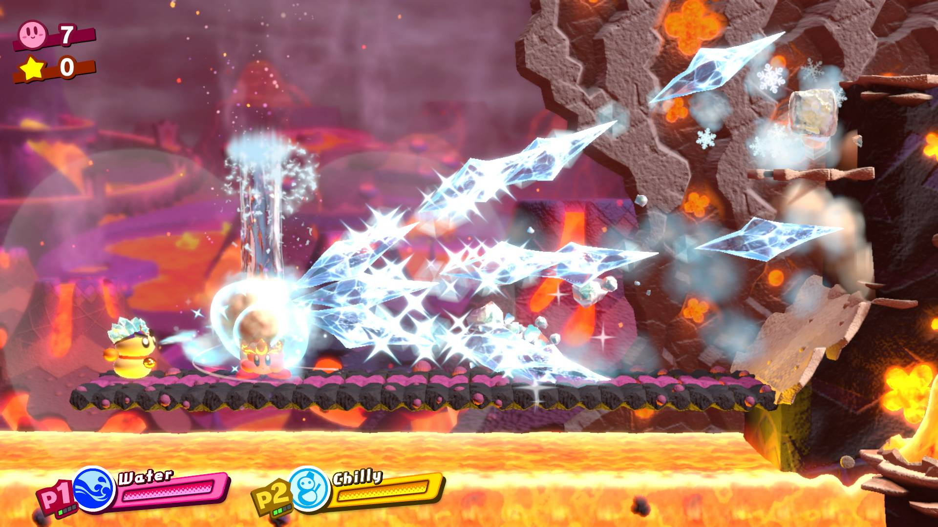 how to play co-op in kirby star allies