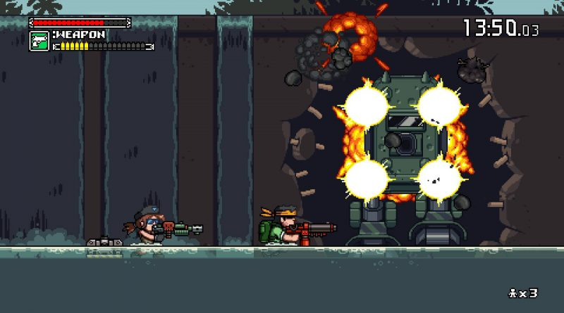 Mercenary Kings Reloaded Edition PS Vita PS4 Nintendo Switch