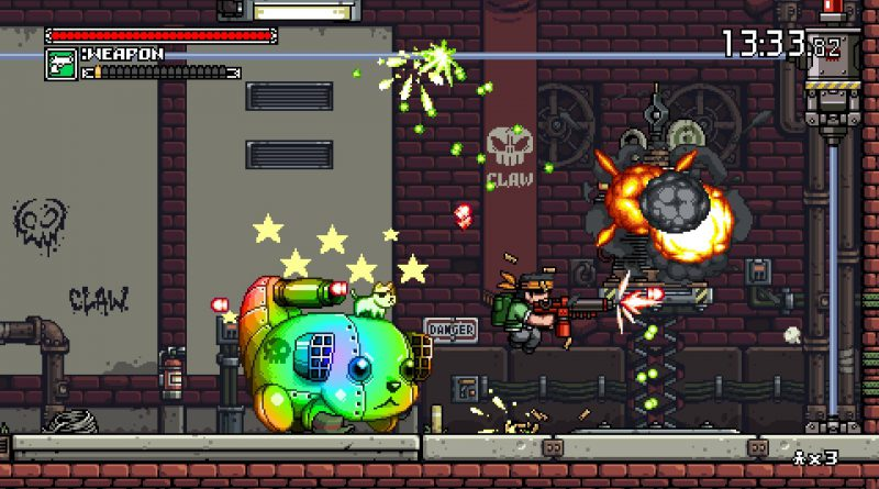 Mercenary Kings Reloaded Edition PS Vita PS4 Nintendo Switch