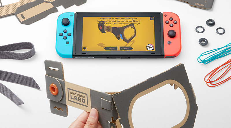 Nintendo Labo Announced For Nintendo Switch