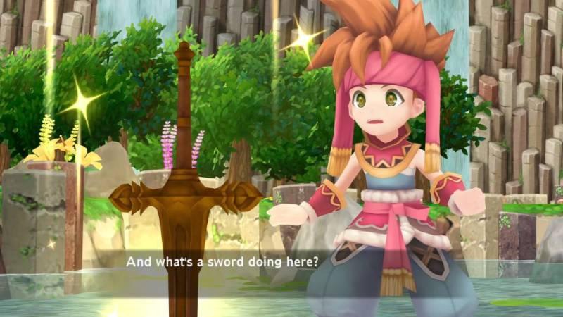 Secret of Mana PS Vita
