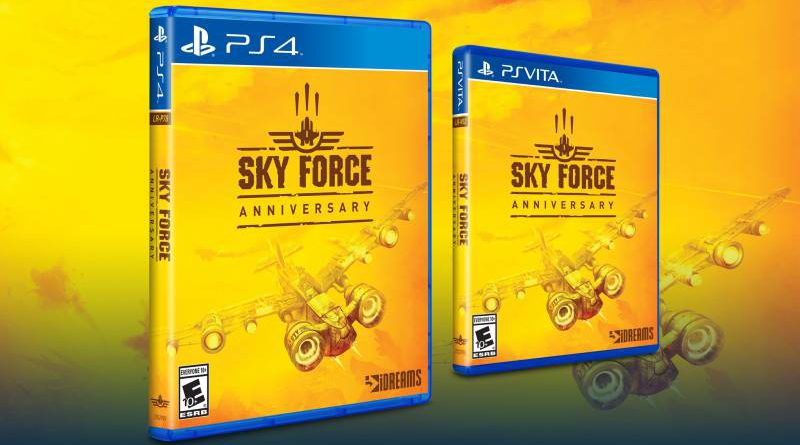 Sky Force Anniversary PS Vita PS4