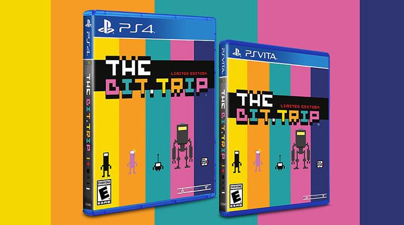 The BIT.TRIP PS Vita PS4