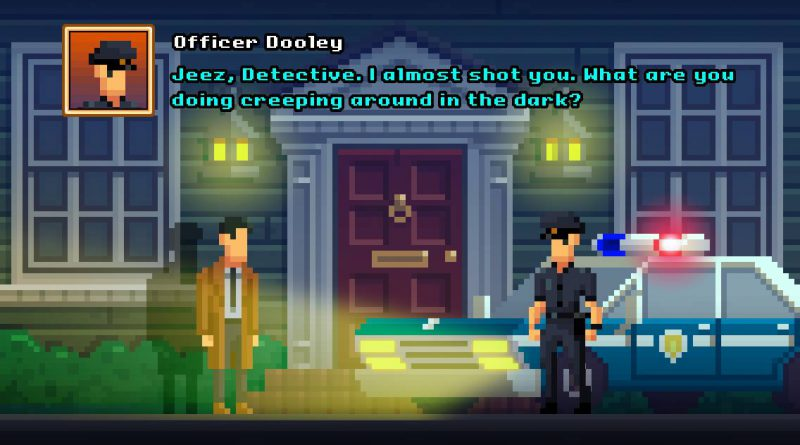 The Darkside Detective Nintendo Switch