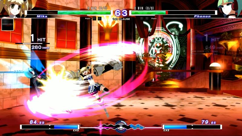 Under Night In-Birth Exe:Late[st] PS Vita