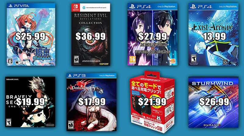 Play-Asia Weekly Special: Tokyo Clanpool, Resident Evil Revelations Collection & More