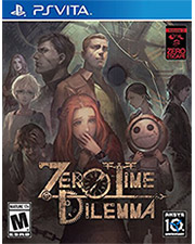 Zero Time Dilemma PS Vita