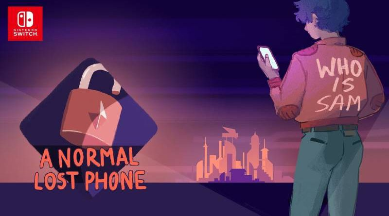 A Normal Lost Phone Nintendo Switch