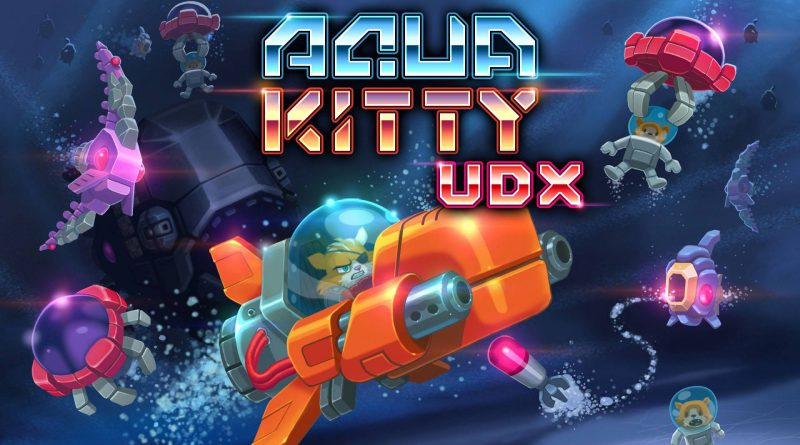 Aqua Kitty UDX Nintendo Switch