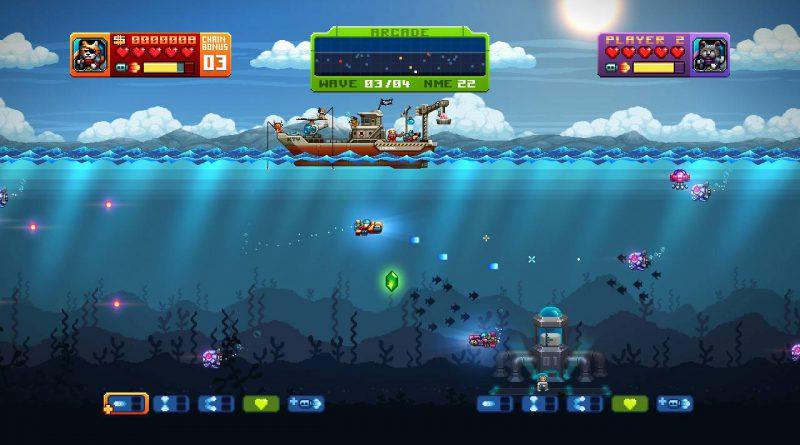 Aqua Kitty UDX Nintendo Switch