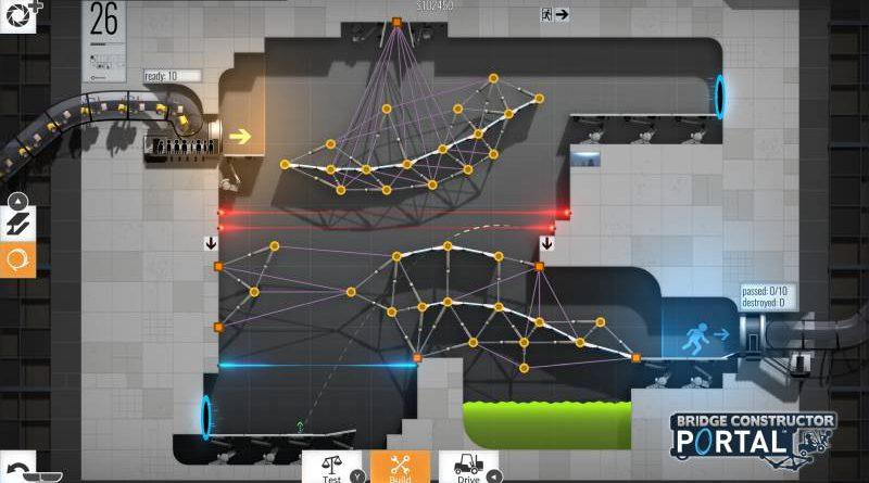 Bridge Constructor Portal Nintendo Switch