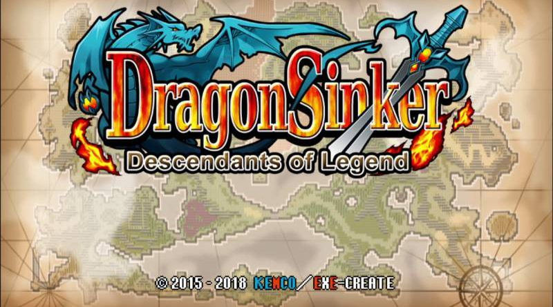 Dragon Sinker Nintendo Switch