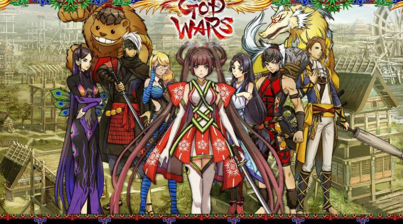 God Wars: Great War of Japanese Mythology PS Vita PS4 Nintendo Switch