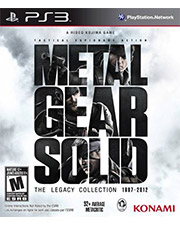 Metal Gear Solid: The Legacy Collection (w/o Artbook) PS3