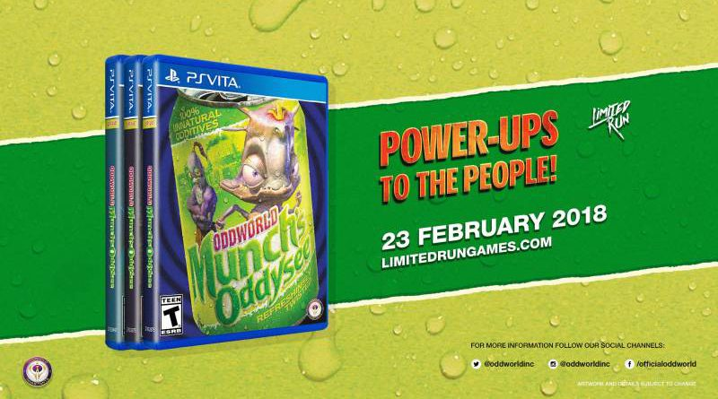 Oddworld: Munch's Oddysee HD PS Vita